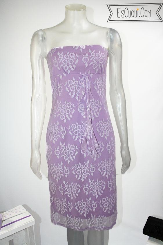 vestido de vestir encaje