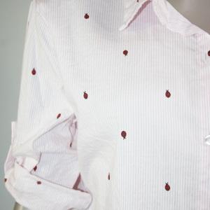 camisas rayas rosa