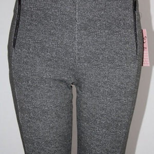 leggings espiguilla gris