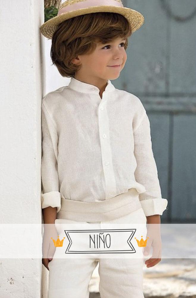 ropa ceremonia niños