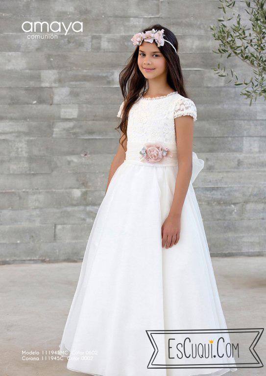 9a315b87e5 Vestido Comunión ☆ EsCuqui  Tienda de Comunión y Ceremonia en ...