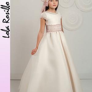 Vestido Comunion Lola Rosillo Q269