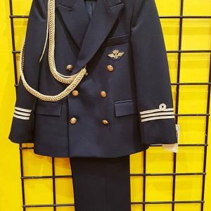traje almirante comunion marino y dorado