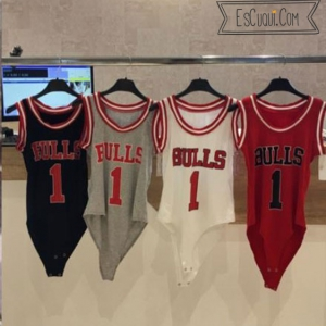 body chicago bulls sin mangas