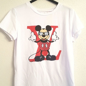 camiseta mickey louis vuitton