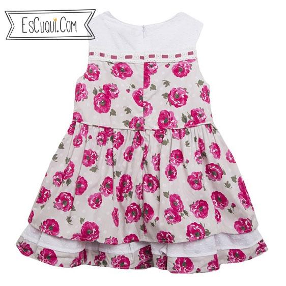 vestido vestir barato flores niña