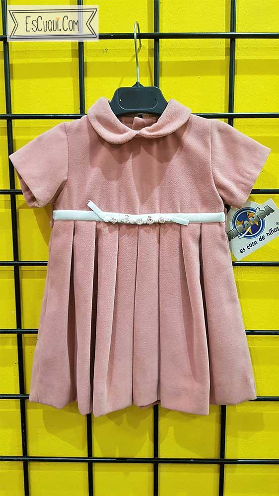 oferta vestido vestir bebe rosa