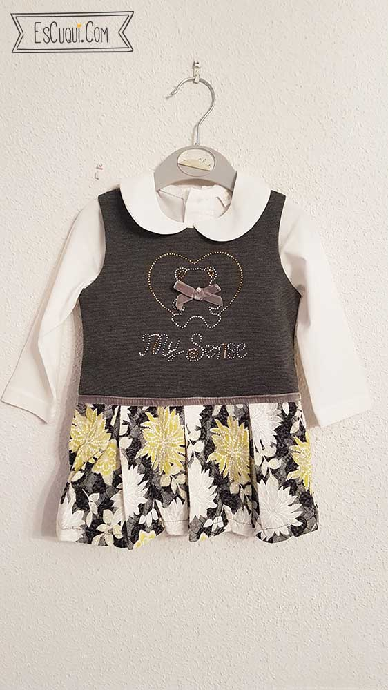 vestido pichi bebe