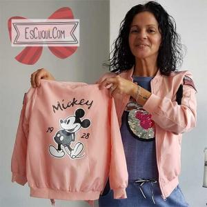 chaqueta igual mami e hija mickey