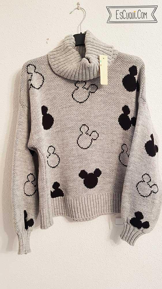 jersey mickey mouse cuello alto