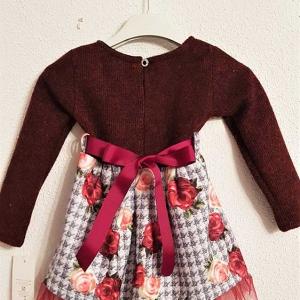 vestido vestir sencillo niña
