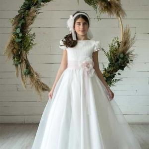 vestido comunion lola rosillo Q362