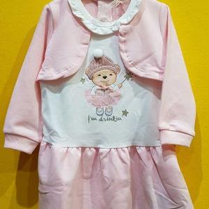 vestido algodon bebe 12/18meses