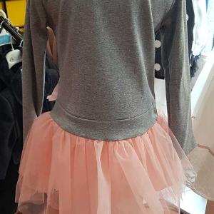 vestido flamencos tutu niña