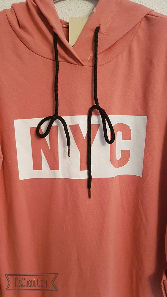 vestido nyc cremalleras sport
