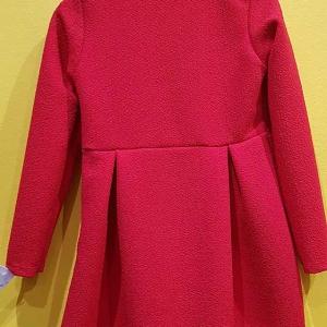 vestio rojo niña vestir barato lazo lentejuelas