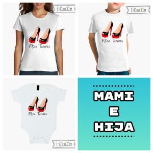 camisetas a juego madre hija miss tacones
