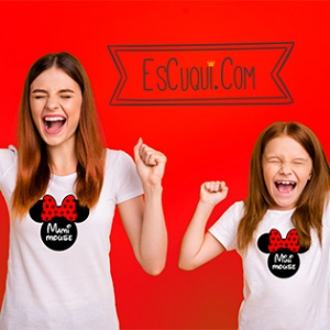 camiseta madre hija mama mouse mini mouse