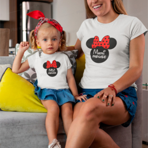 camiseta madre hija minnie mickey mini