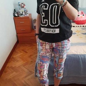 pantalon comic chica moda urbana