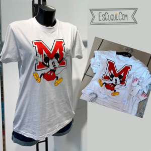 Camiseta mickey mouse madre hija m
