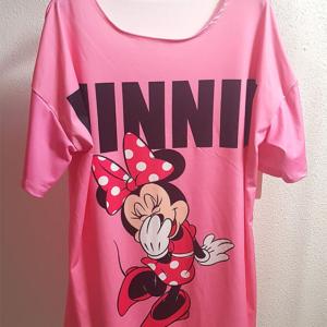 vestido rosa minnie mujer camisola