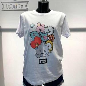camiseta bt21 mujer