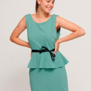 vestido vestir corto baratito y sencillo