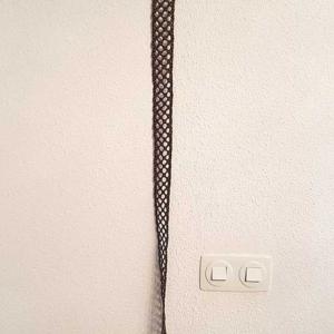 cinturon calado marron
