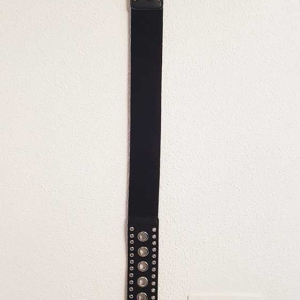cinturon negro barato mujer
