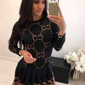 vestido tipo colegiala cc