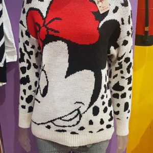 jersey minnie mouse lazo animal print