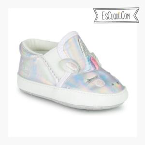 zapatillas plateadas bebe chicco