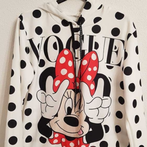 sudadera vogue minnie mouse lunares