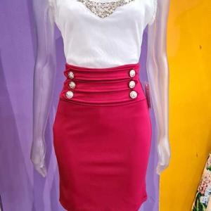 falda lapiz elastica mujer