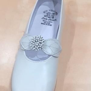 zapato vestir niña marfil talla 33