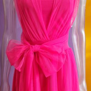 vestido mujer vestir corto tul