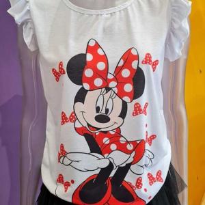 Camiseta mujer minnie mouse volantitos