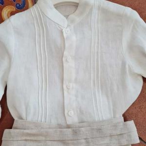 conjunto ceremonia niño amaya 311307 talla18 meses