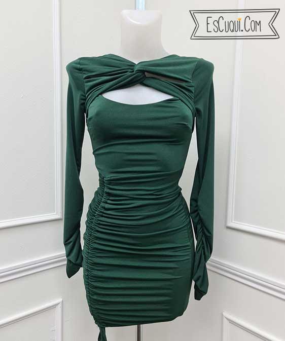 vestido ceñido sexy mujer